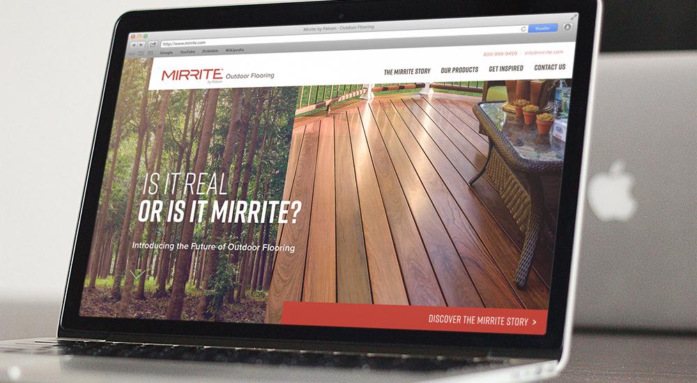 Mirrite Microsite