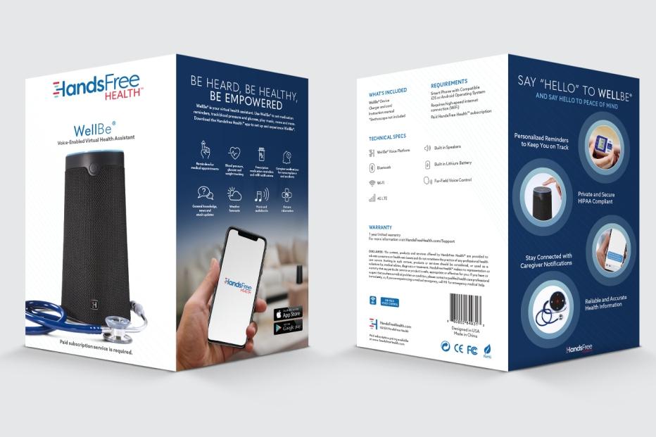HandsFree Health WellBe Packaging