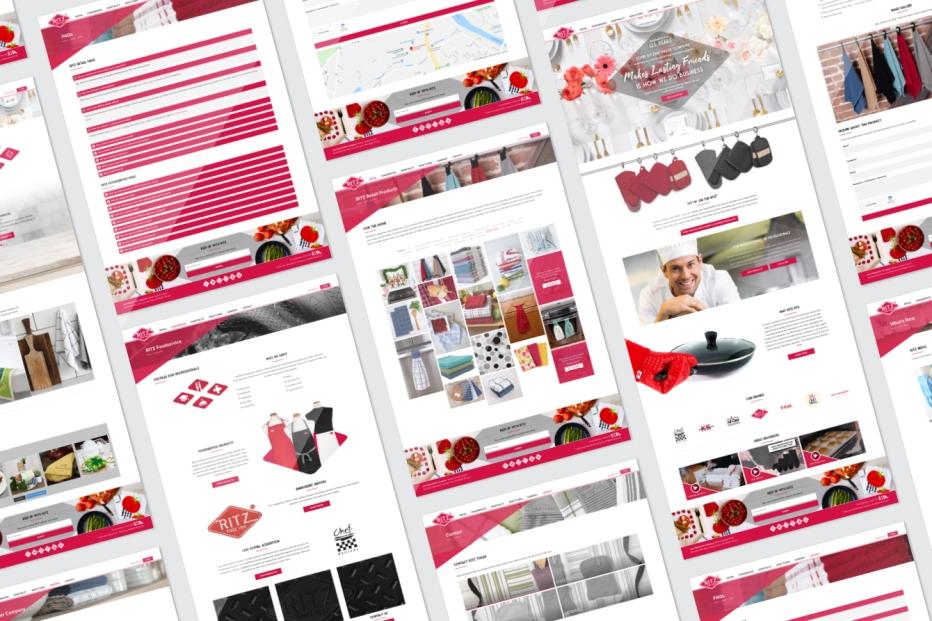 John Ritz Website Grid